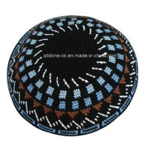 Jewish Judaism Judaica Crochet Kippah Knitted pictures & photos