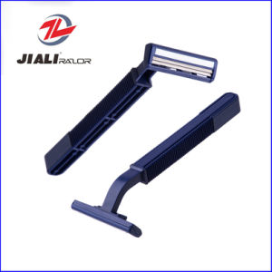 High Quality Twin Blade Disposable Shaving Razor for Mexico pictures & photos