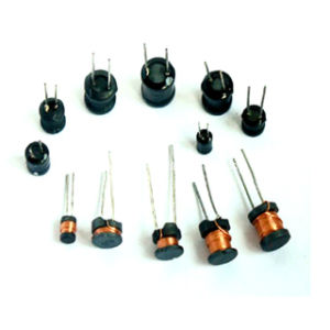 Top-Quality Leaded Power Pin Inductors and Power Choke Coils with Ferrite/Drum Core pictures & photos