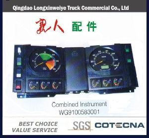 HOWO Auto Truck Parts Combined Instrument pictures & photos