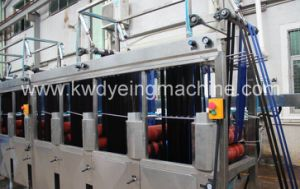 4lines Luggage&Bag Belts Continuous Dyeing Machine with 12 Tanks pictures & photos