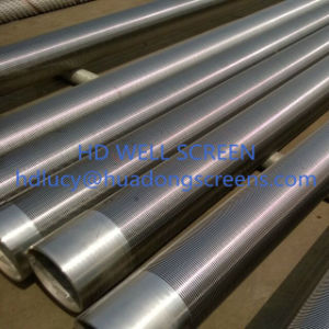 Stainless Steel 304/316 Water Well Wire Screen/Johnson Screen for Sand Control pictures & photos
