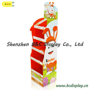 Hot Selling with Cheapest Price Cardboard Floor Display Stand with SGS (B&C-A091) pictures & photos