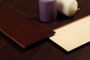 Horizonal Chestnut HDF Baoboo Flooring pictures & photos