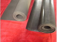 Black Color FKM Rubber Sheet, FKM Gasket Sheet, Fluorubber Sheet FDA Grade with Postcure Without Smell pictures & photos