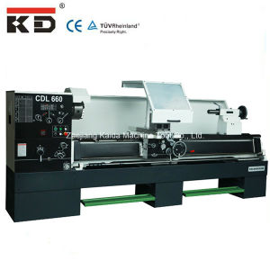 Precision Metal Heavy Duty Lathe Machine Tool Cdl660 pictures & photos