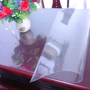 PVC Soft Transparent Sheet for Table pictures & photos