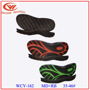 Summer Various Style  Md+Rb Material Series Sandals Sole for Beach Sandals Shoes Making pictures & photos