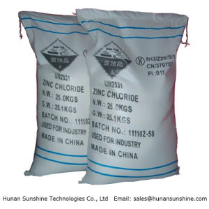 Top Grade Zinc Chloride for Dry Battery pictures & photos