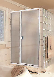 Frosted or Acid Etched Toughened Shower Screen Glass pictures & photos