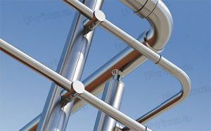 Mirror Finish Stainless Steel Handrail Railing for Outdoor Balcony Design pictures & photos