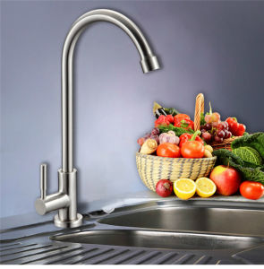 New Fashion and Best Price Single Handle Kitchen Faucet (mixer, tap) pictures & photos