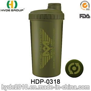 700ml BPA Free Custom Plastic Protein Shaker Bottle (HDP-0318) pictures & photos