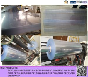Clear PVC Roll for Blister Packing pictures & photos