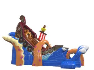 Kraken Attack Inflatable Slide Chsl670 pictures & photos
