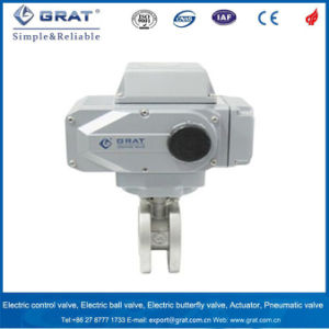 V-Notch Electric Control Valve pictures & photos