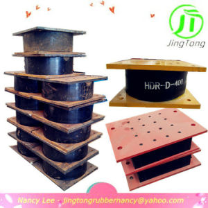 China Factory Jingtong Rubber Quality Lead Rubber Bearing for Building Construction Siemisic Isolator Base