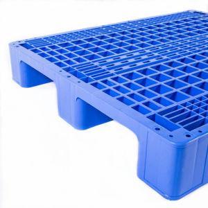 Wholesale Single Face Four-Way Industrial Plasstic Flat Pallet pictures & photos
