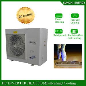 Hungary Evi Tech. -25c Winter Floor Heating100~350sq Meter Room 12kw/19kw/35kw Cop Split Heat Pump Price of Electric Water Heater pictures & photos