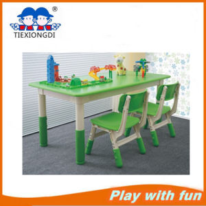 China Kids Plastic Round School Table and Chair Furniture  China
