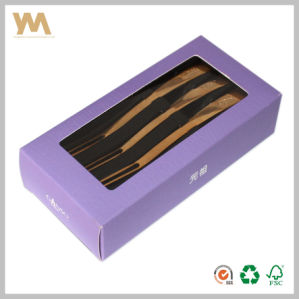 Paper Gift Box with Cmyk Printing for Tableware Forks pictures & photos