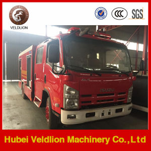 Isuzu 4X2 LHD Euro4 Special Foam Fire Trucks pictures & photos