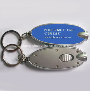 Light Torch Key Ring with Logo Printed (4057) pictures & photos