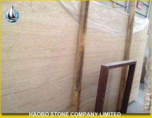 Beige Travertine Marble Slabs Price pictures & photos