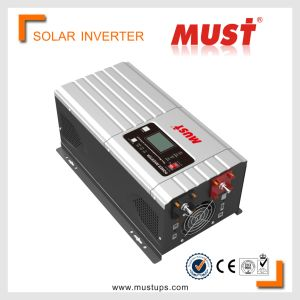 Must Cold Start Function 6kw Pure Sinewave 40-80Hz Solar Inverter pictures & photos