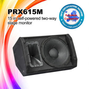 "Prx615m 15"" Audio Monitor Stage Powered Speaker pictures & photos"