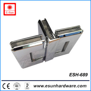 Hot Designs Three Sides Forging Brass Glass Hinge (ESH-689) pictures & photos