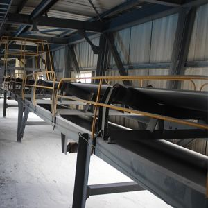 Fixed Belt Conveyor with Rubber Roller pictures & photos