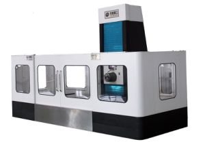 Moving Column Precision Horizontal CNC Machine Center Hh1812 pictures & photos
