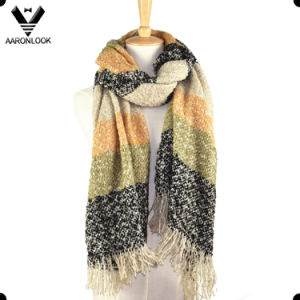 Hot Style Women Winter Loop Yarn Soft Wrap Oversized Scarf pictures & photos