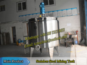 2000L Fresh Milk Batch Pasteurizer pictures & photos