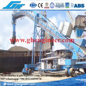 300t/H Rubber Tyre Continuous Ship Loader pictures & photos