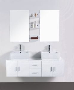 PVC Bathroom Cabinet of Sanitary Wares (8848) pictures & photos