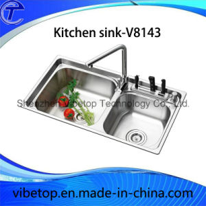Customized Handmade Stainless Steel Kitchen Wash Sink pictures & photos