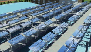 Solar Trough Collector Produce Steam Solar Thermal Plant Csp pictures & photos