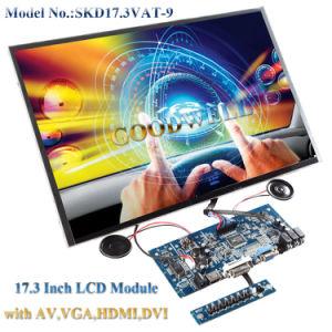"AV, VGA, HDMI, DVI Input 17.3"" LCD Monitor pictures & photos"
