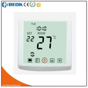 220V Colorful Screen Electric Room Heating Thermostat with Two Sensors pictures & photos