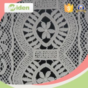 Hot Selling Snowflake Floral Mesh Pattern Embroidery Patch pictures & photos