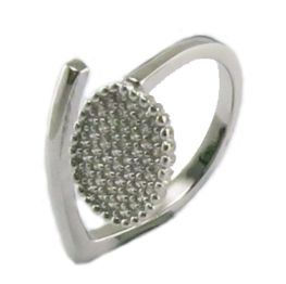 25 Sterling Silver AAA Cubic Zirconia Ring Girls Silver Jewelry R10564 pictures & photos