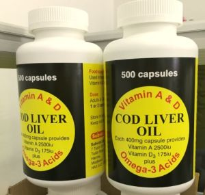 Cod Liver Oil Softgel Clo Softgel