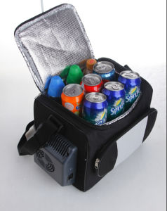 Electronic Mini Fridge 12liter DC12V, AC100-240V with Cooling and Warming for Car, Outdoor Activity Use pictures & photos