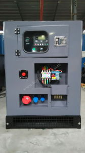 Cummins Water Cooled Engine Canopy Type ATS Diesel Generator 300kw pictures & photos