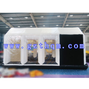Mobile Automatic Inflatable Spray Booth/Inflatable Portable Spray Paint Booths for Car pictures & photos