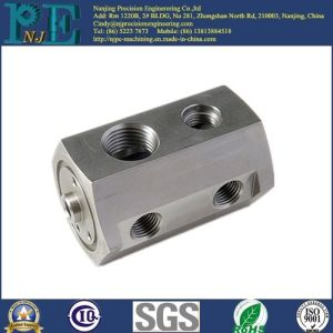 ODM Al6063 CNC Machining Hexagonal Thread Fittings pictures & photos