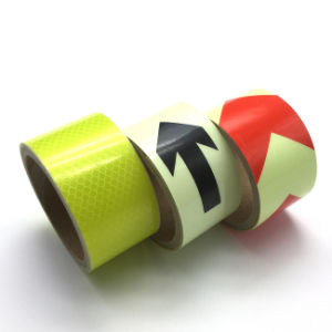 Reflective Safety Warning Tape Indoor Marking Sticker pictures & photos