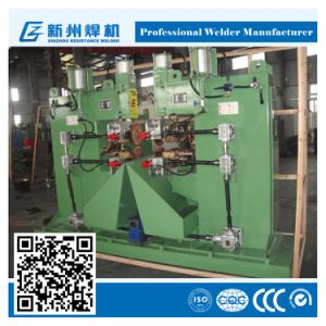 Two Heads Pneumatic Seam Welding Machine pictures & photos